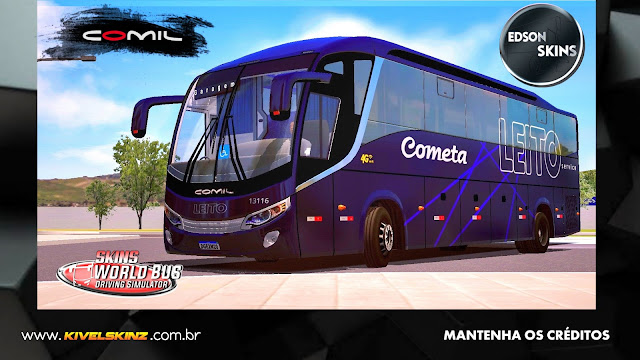 COMIL 1200 4X2 - VIAÇÃO COMETA LEITO