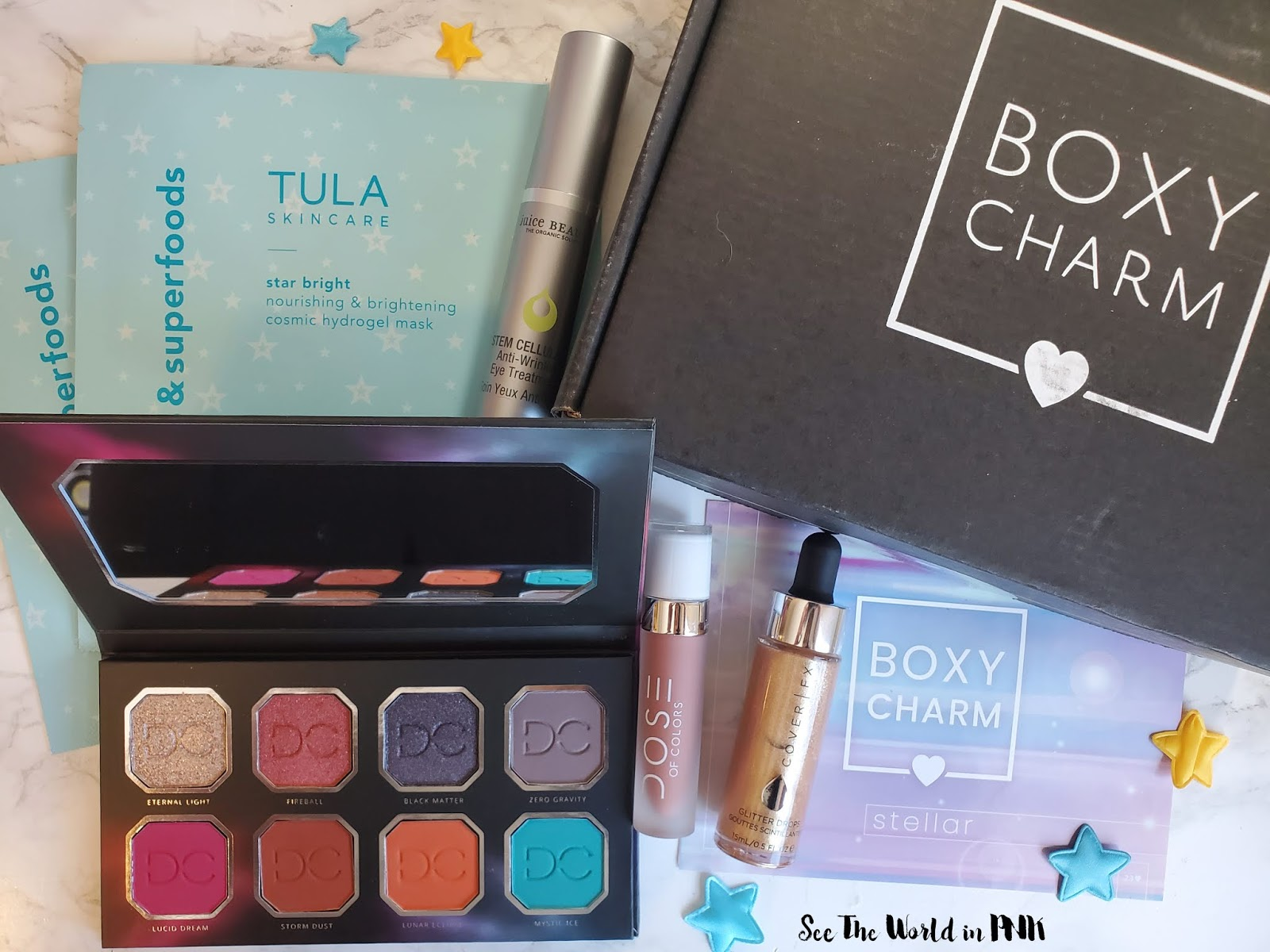 November 2019 Boxycharm - Unboxing, Swatches, Review, and Full Make-up Look!