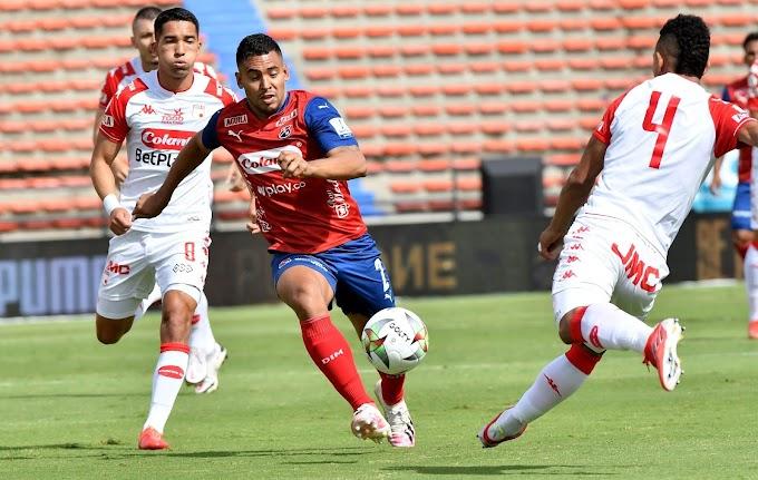 El 'Rojo' no levanta: Independiente Medellín no pudo ante Santa Fe e igualó sin goles, por la octava fecha de la Liga BetPlay 2 2021