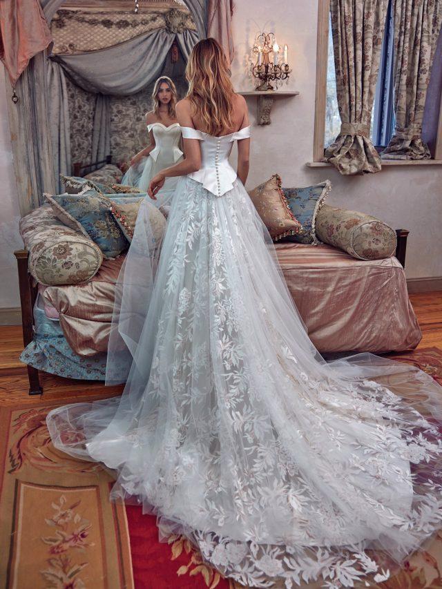 vestidos de novia elegantes y caros