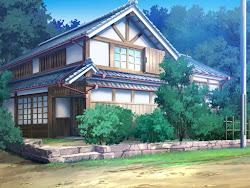 anime background landscape resort nice quiet places