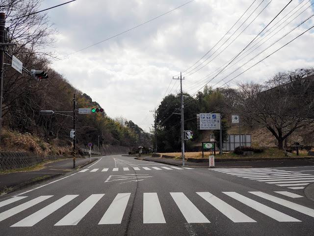 中井中学校入口
