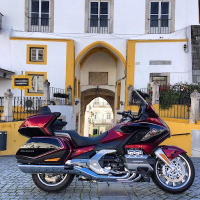 portugal estrada nacional 4 elentejo honda gold wing gl800