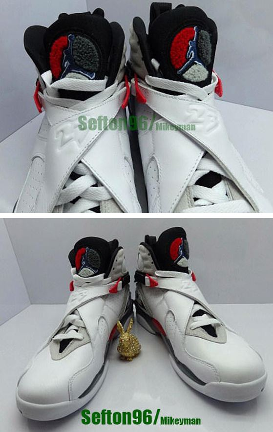 27622890a12a Here is new images of the 2013 Air Jordan 8 Retro Bugs Bunny Sneaker  releasing on 4 2013 for 170 bucks
