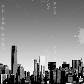 urban city illustration vector |  3d city illustration vector | simple city illustration vector | New york Vector | black and white city