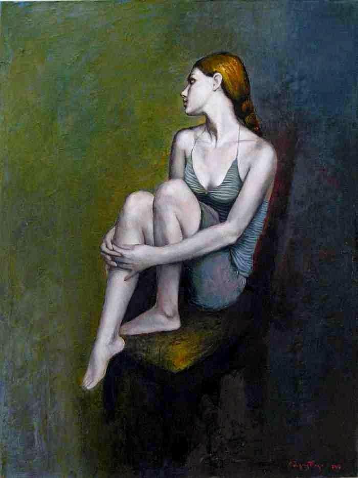 Талантливый грузинский художник. Murman Kutchava