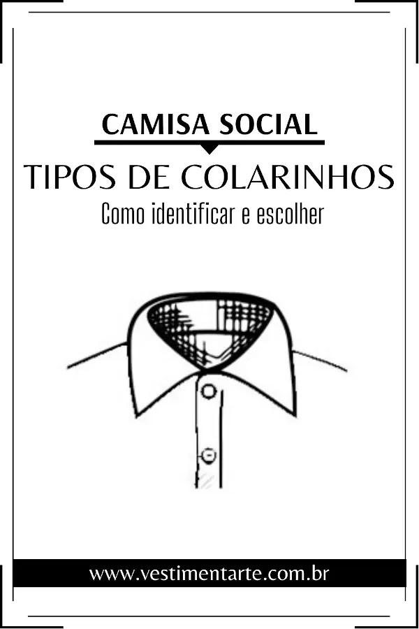 Camisa Social Masculina: Tipos de colarinhos