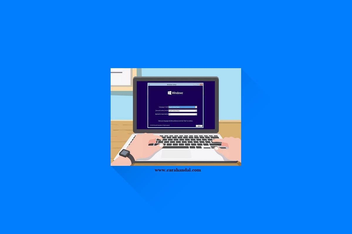 Cara Instal Ulang Laptop HP Mudah Tak Perlu Mengundang Jasa Service