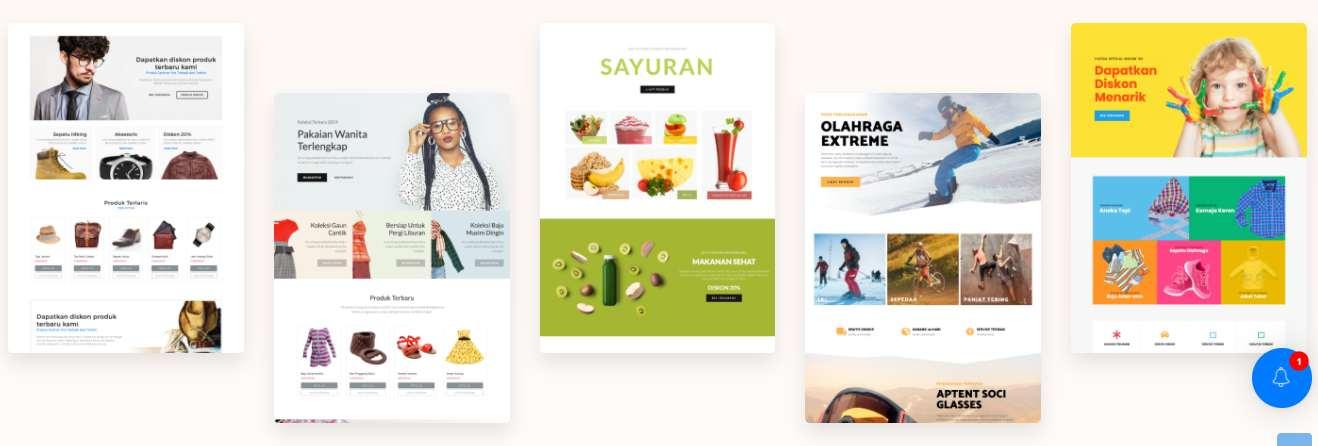 Template WordPress Untuk Situs Website Toko Online Shop Premium