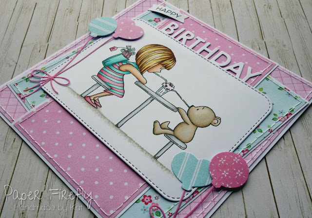 Birthday card using Milkshake image by LOTV