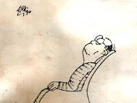 Kartun Karya Alva Kosnandar, Kloset Goyang