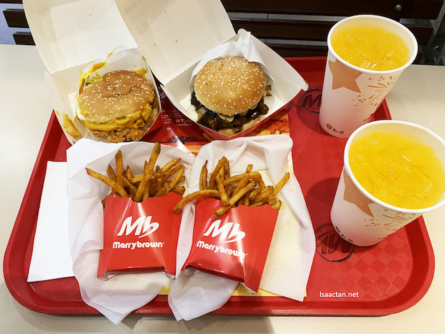 Marrybrown's Fortune Burger - Have You Tried Them Out Yet?