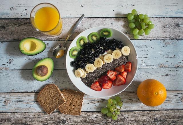 buah untuk sarapan