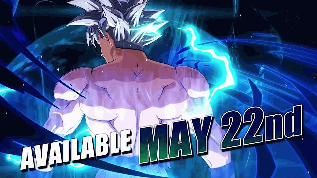Goku (Ultra Instinct) se une a Dragon Ball FigherZ el 22 de mayo
