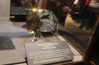 The largest cut yellow topaz in the world, World's Largest Crystals II