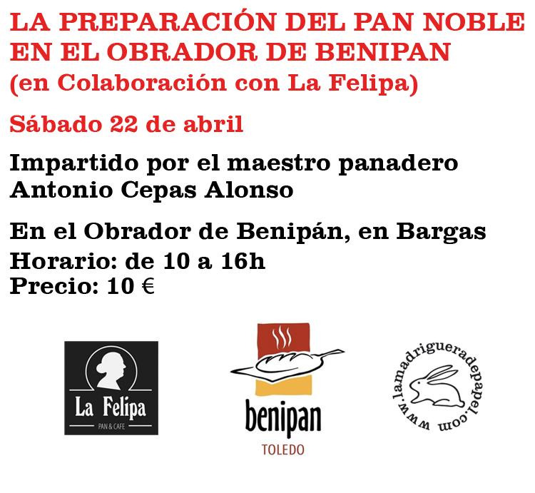 TOLEDO-LIBRERÍA-LA MADRIGUERA DE PAPEL-ACTIVIDADES-TALLERES-PAN