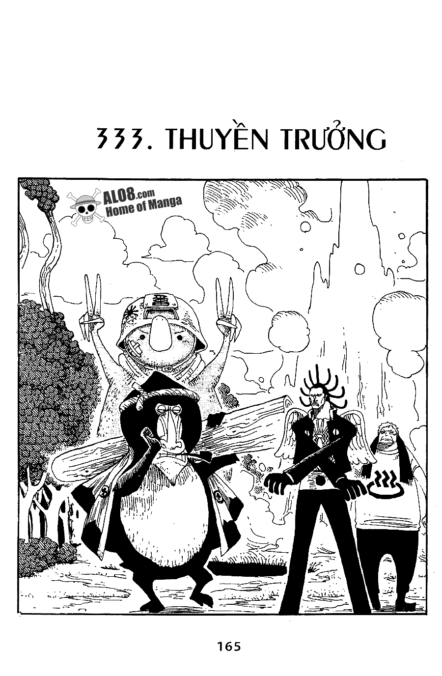 One Piece Chap 333