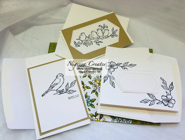 Nigezza Creates with Stampin' Up! Bird Ballad Make & Take