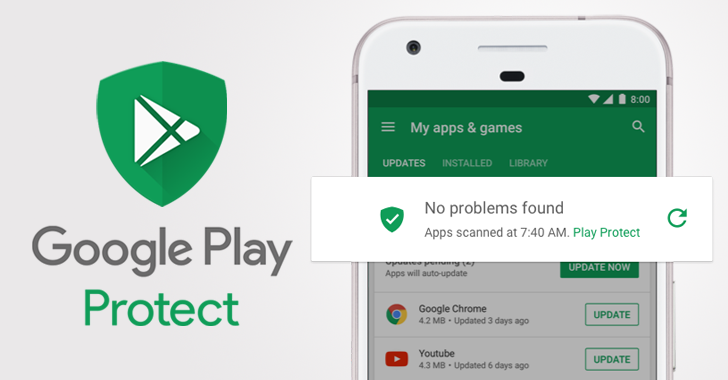 droidcommando: Google Play Protect Keeps Your Android Phone