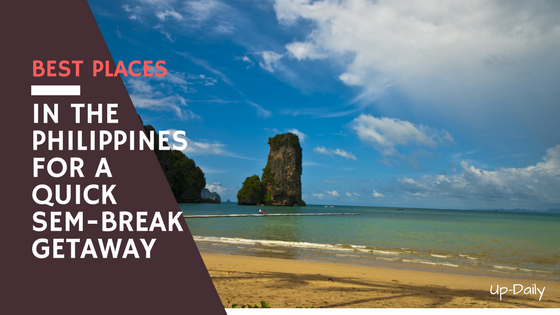 Best Places in the Philippines for a Quick Sem-Break Getaway