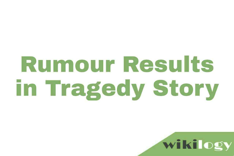 Rumour Results in Tragedy Story Fire in a garment factory