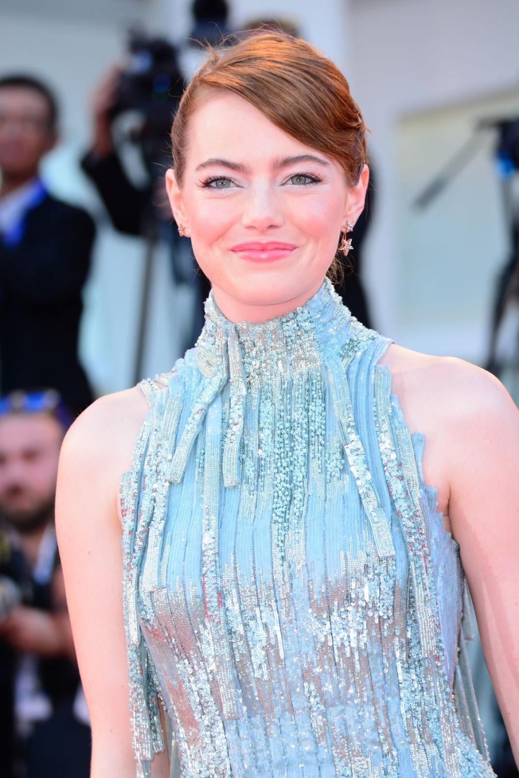 Emma Stone at La La Land Premiere at 2016 73rd Venice Film Festival