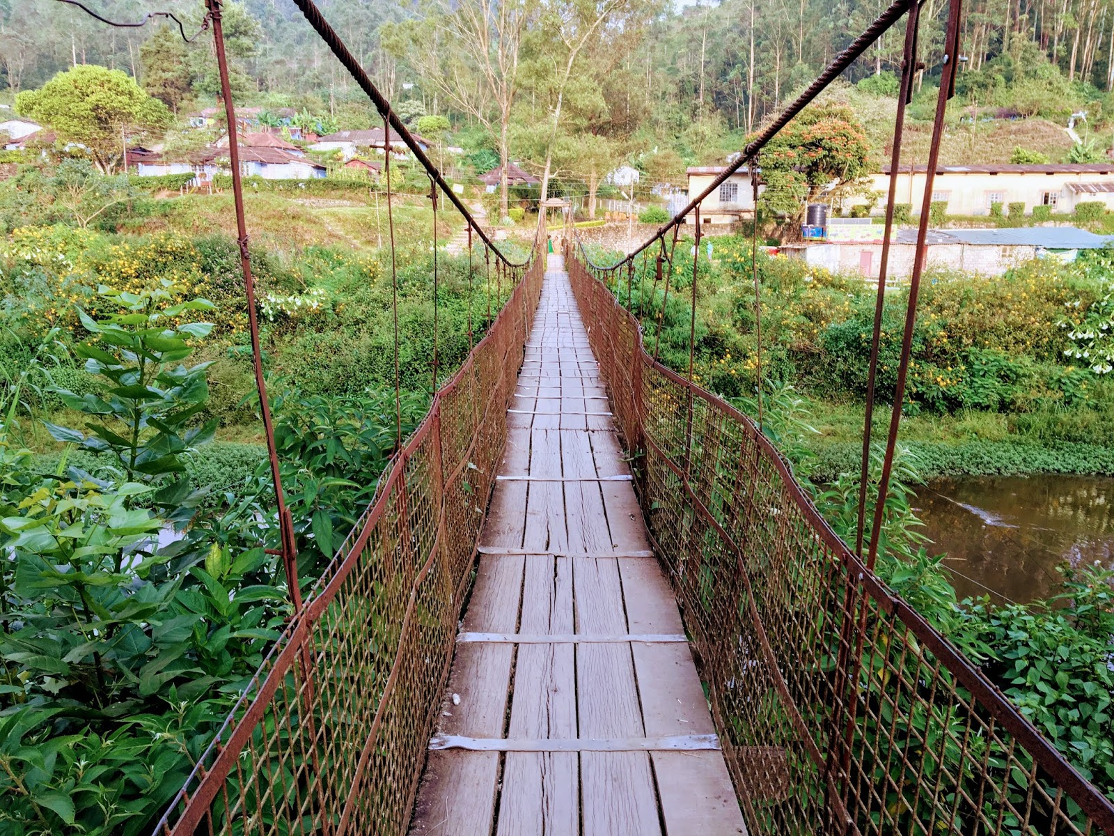 Old Hanging Bridge, Munnar