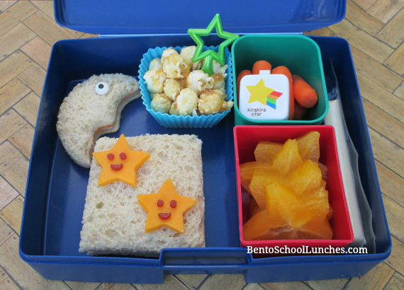 Twinkle little star song,bento school lunch in Laptop Lunches