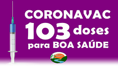Boa Saúde receberá 103 doses da Coronavac