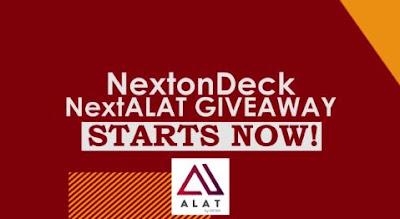 WIN N50,000 CASH NOW!!!: DJ Jimmy Jatt's NEXT ON DECK ALAT GIVEAWAY