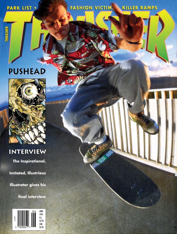 0a7da5f4804 Skateboard Magazine Archive  Thrasher June 1991