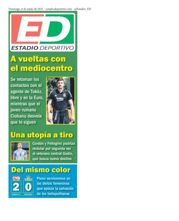 """Betis, Estadio Deportivo: """"A vueltas con el mediocentro"""""""