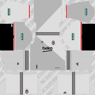 Beşiktaş - Dream League Soccer 2021 Forma Kits & Logo