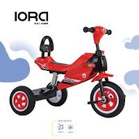 Sepeda Roda Tiga Anak PMB IORA TC08 Motocross Baby Tricycle