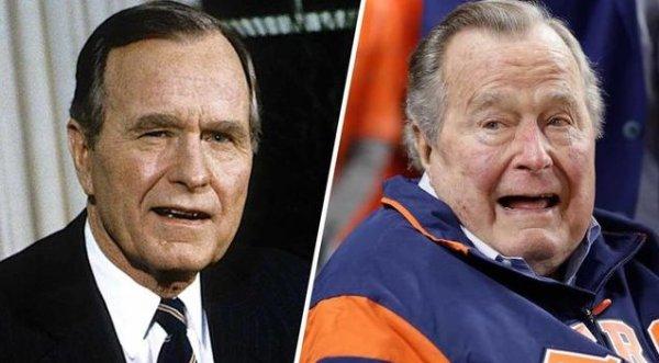 George H. W. Bush 94 yaşında  Houston'da öldü