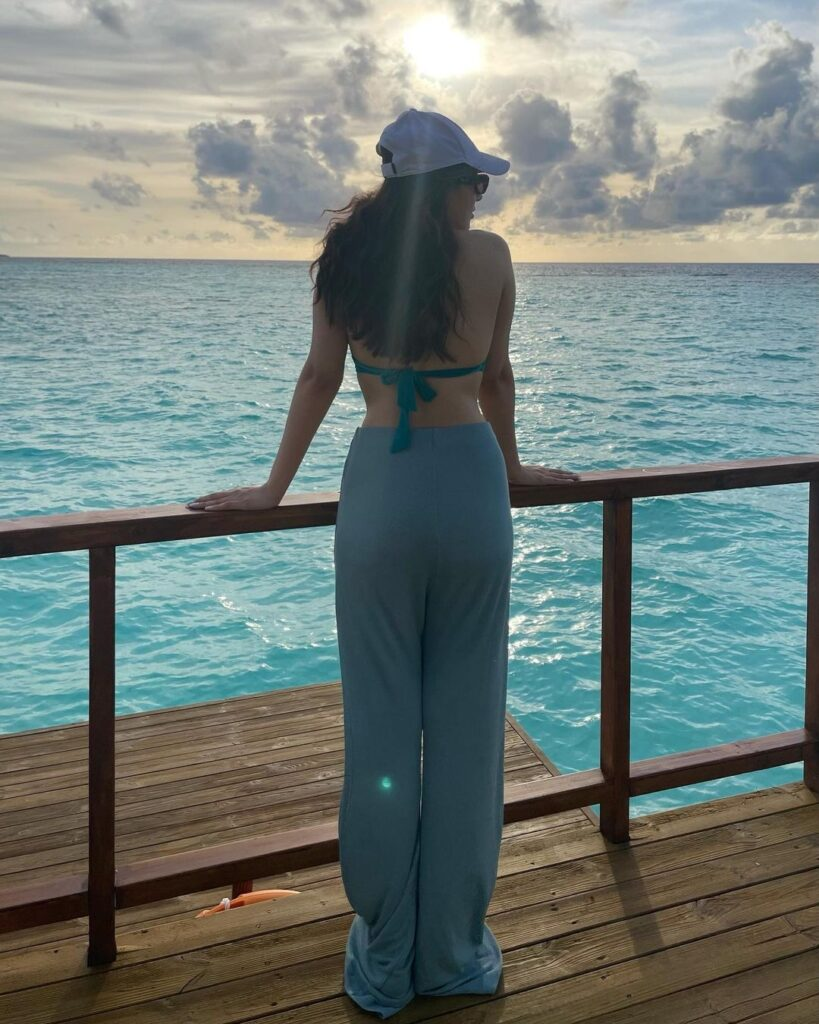Pic of the day: Hansika Motwani is that the Ultimate Water Baby