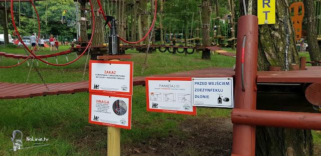 Bezpieczeństwo na parkach linowych