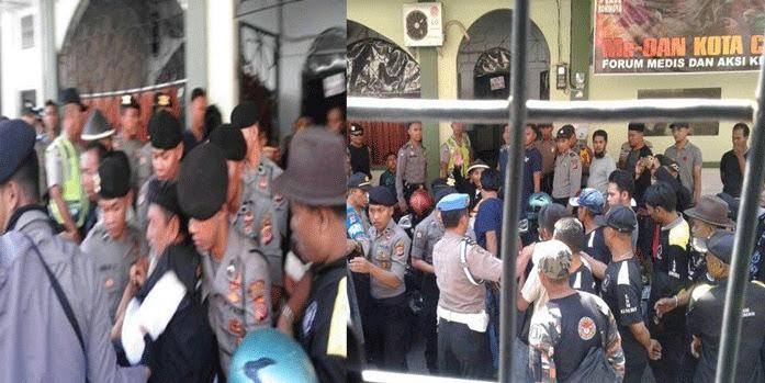 GMBI Terlibat Dalam Pembubaran Kajian Ust. Bernard, FJI Siap Jihad ke Cirebon Hadapi GMBI