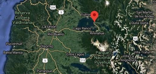 """Lago """"Ranco"""" en el sector """"Llifen"""""""