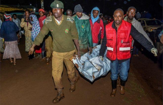 Kenyan dam bursts, causing deaths, 'huge destruction', official says