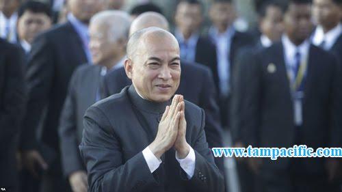 Campuchia đang truy bắt người báng bổ quốc vương Norodom Sihamoni