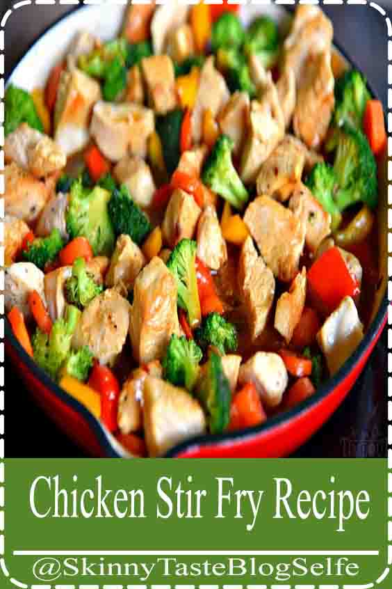 4.9 | ★★★★★ This easy Chicken Stir Fry recipe is loaded with fresh veggies and the most delicious sauce made with honey, soy sauce, and toasted sesame oil! This healthy recipe takes 20 minutes to make and will wow your family with it's amazing flavor! Mom On Timeout #dinner #entree #maindish #chicken #veggies #vegetables #stirfry #easy #quick #recipe #recipes #momontimeout #ad