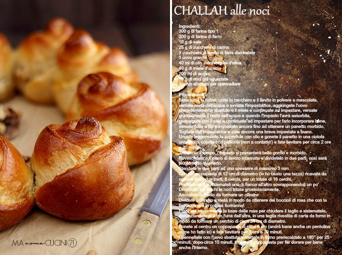 challah alle noci re-cake