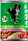Picture of Iams ProActive Health Adult Ground Dinner with Lamb and Rice Canned Dog Food
