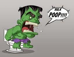 Hulk como un hijo pequeño