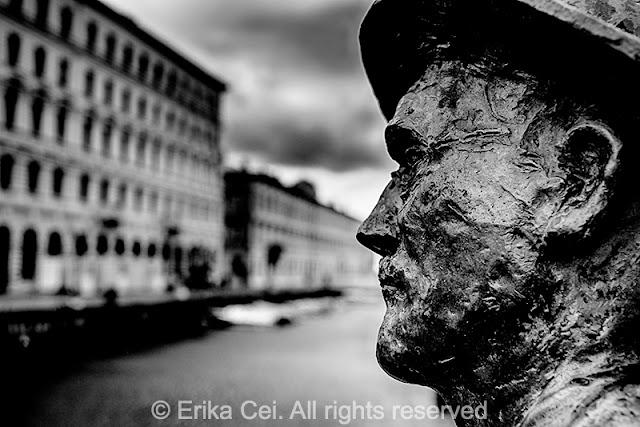 Statua Joyce Trieste