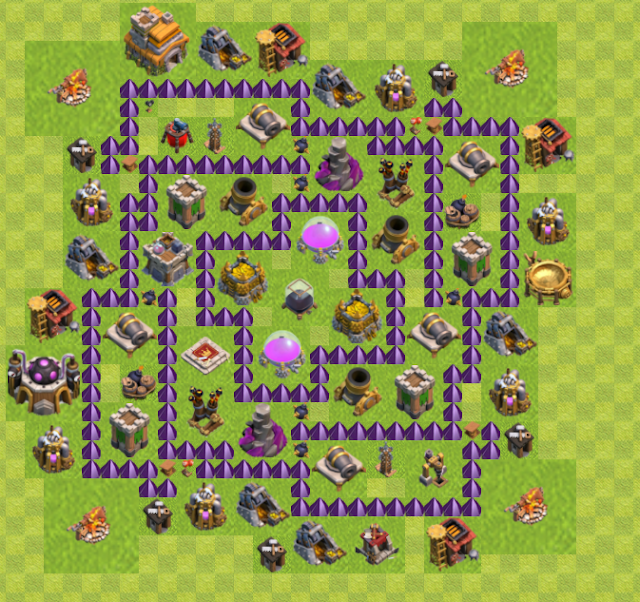 Base TH 7 Farming