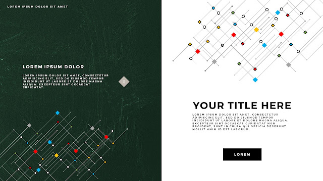 Infographic Linear Technical Title Free PowerPoint Template Slide 6