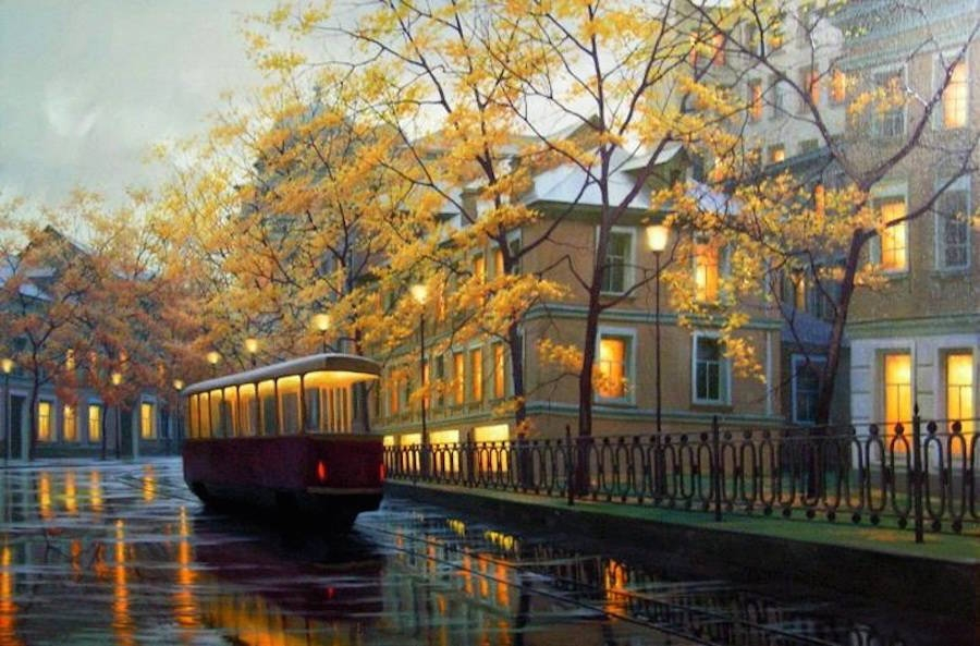 07-Alexey-Butyrsky-Architecture-in-Paintings-of-Cityscapes-at-Night-www-designstack-co