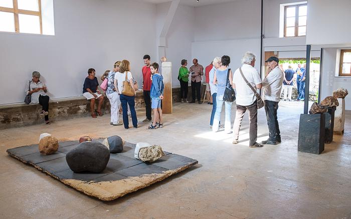 Sculpture - Daniel Pontoreau - Exposition au château de Grandvaux à Varennes-sous-Dun